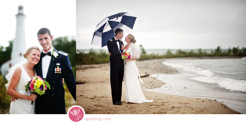 sturgeon point lighthouse wedding photographer